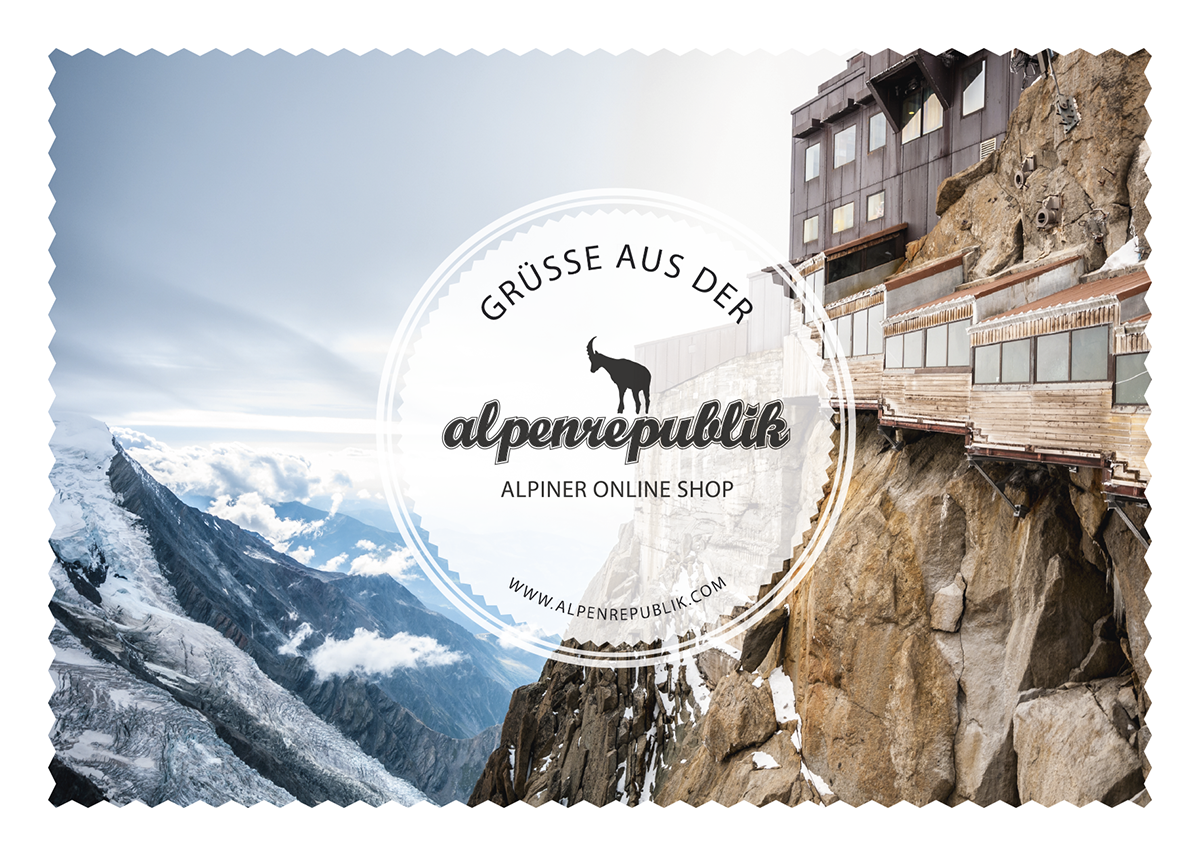 Alpenrepublik-Postkarte-02-Aiguille-du-Midi-Vorderseite Kopie